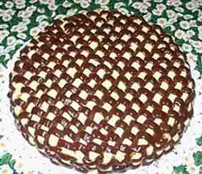 Foto della torta realizzata da paola balestrini seguendo for Decorazione a canestro